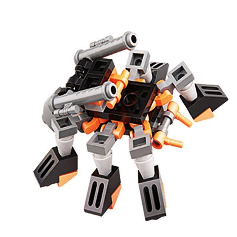 古迪积木8209地球边境系列死神沙漏机甲男孩益智拼装积木玩具
