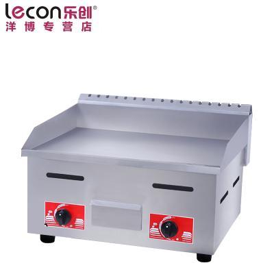 lecon/乐创洋博 718台湾手抓饼机器 燃气扒炉商用 鱿鱼铜锣烧机 铁板烧商用设备
