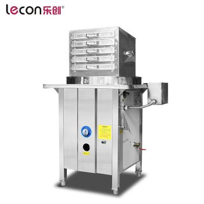 lecon/樂創洋博 一抽一份商用燃氣腸粉機廣東腸粉抽屜式機節能加厚蒸蒸粉機蒸爐布拉腸