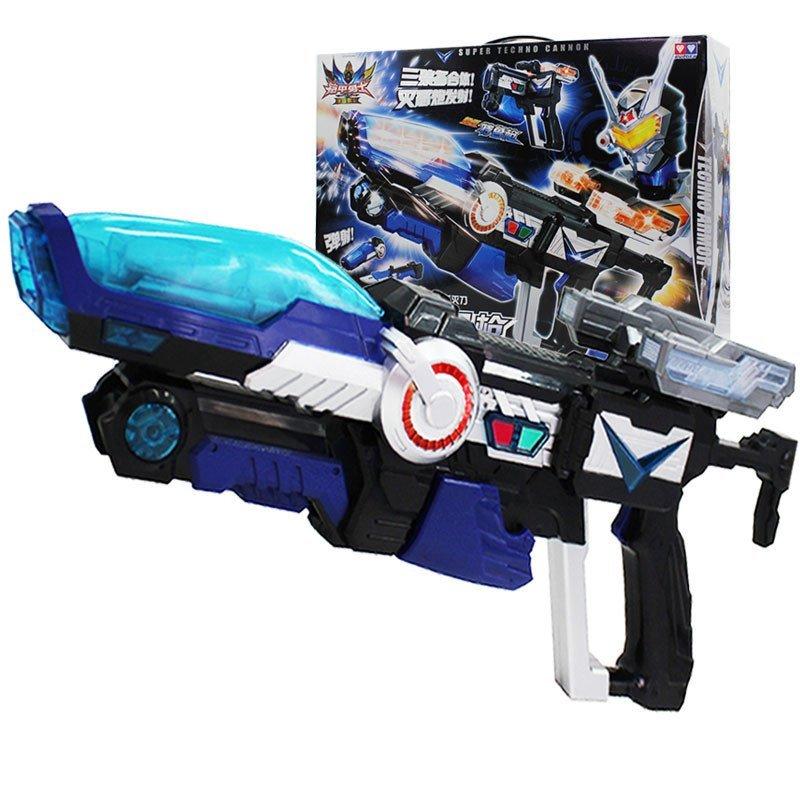 奧迪雙鉆鎧甲勇士玩具特魯武器 特魯烈狙槍兒童節生日