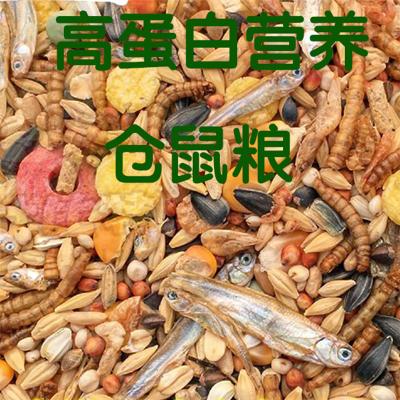 正楷倉鼠糧 倉鼠食品 三線布丁紫倉金絲熊銀狐 糧食 小寵食品 零食 倉鼠全營養糧400克