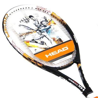 海德 /HEAD 球星系列男女网球拍初学入门进阶网拍 小德黑色
