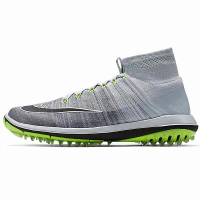 NIKE耐克高爾夫球鞋男款高爾夫鞋子844450-002男士休閑運動高幫鞋
