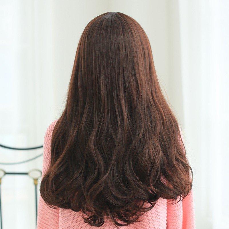小苏妞假发 假发女长卷蓬松长发假发型女士假发斜刘海图片图片