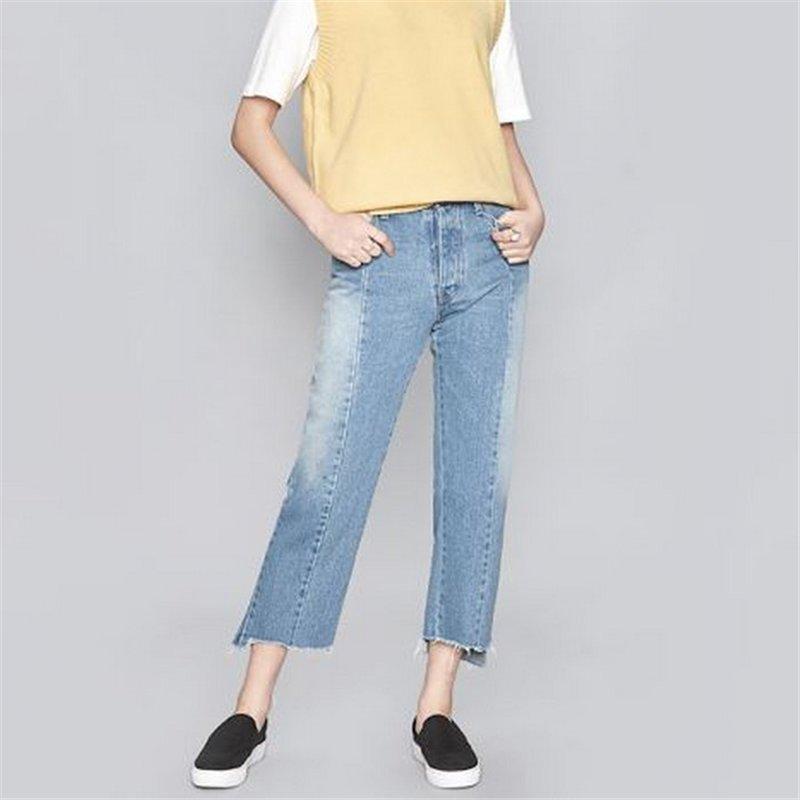 九分裤牛仔女