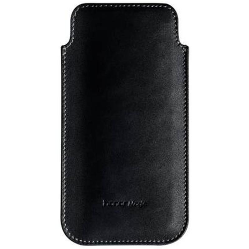 华为荣耀magic手机壳专属真皮皮套牛皮商务直插式保护套原装正品