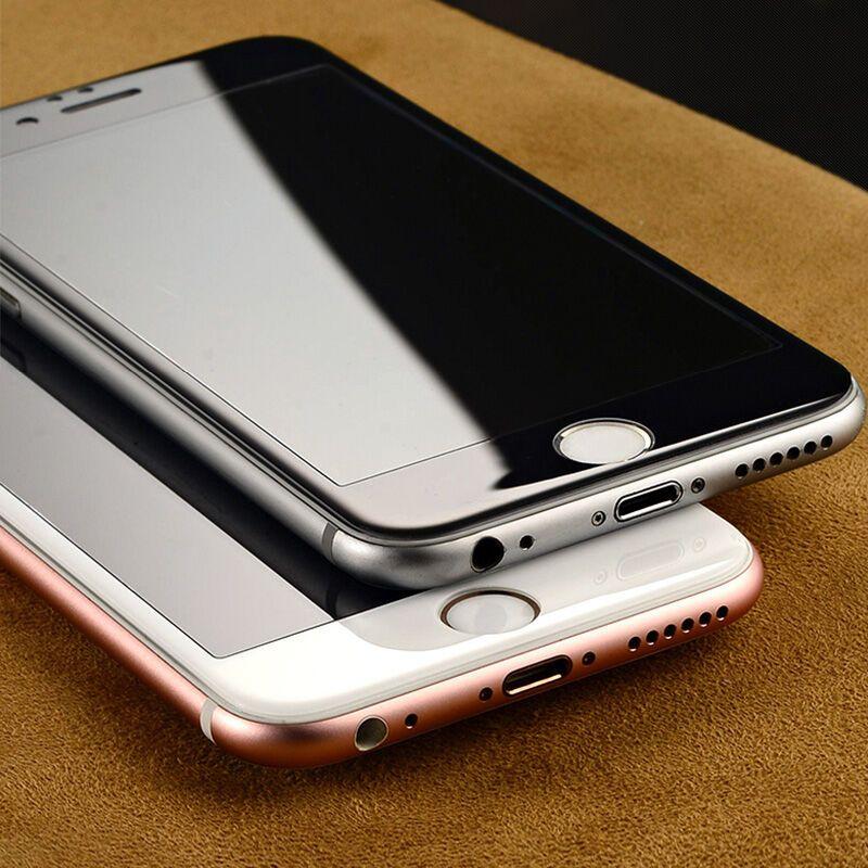 魔壳(moke)iphone7/6s/6全屏全覆盖钢化膜苹果6/7曲面3d数码软边罗兰手机印花机图片