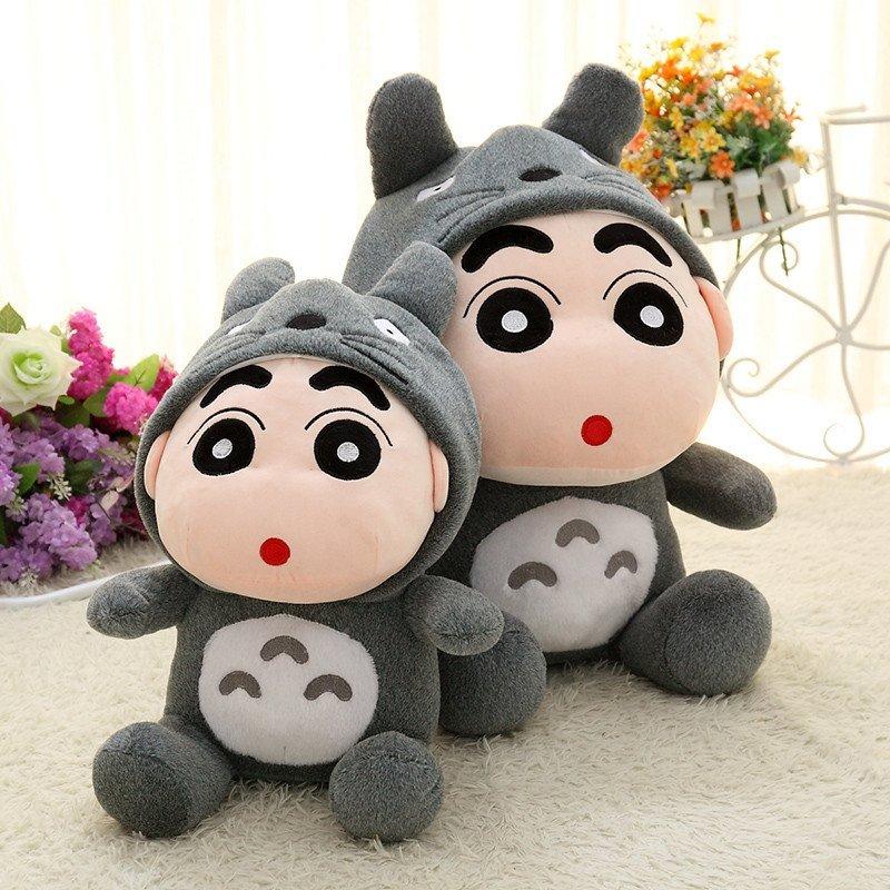 蜡笔小新变身公仔龙猫生日熊猫毛绒玩具布娃娃女生礼物玩偶送阴部情趣用品在猴子塞图片
