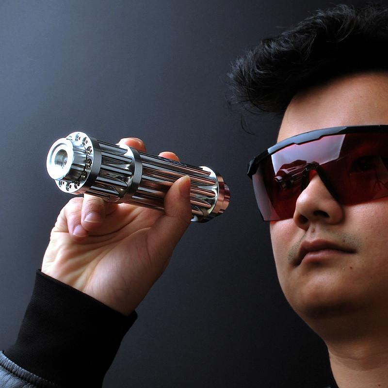 探露 加特林激光炮 激光手电筒蓝光激光灯教鞭笔镭射灯蓝外线远射图片