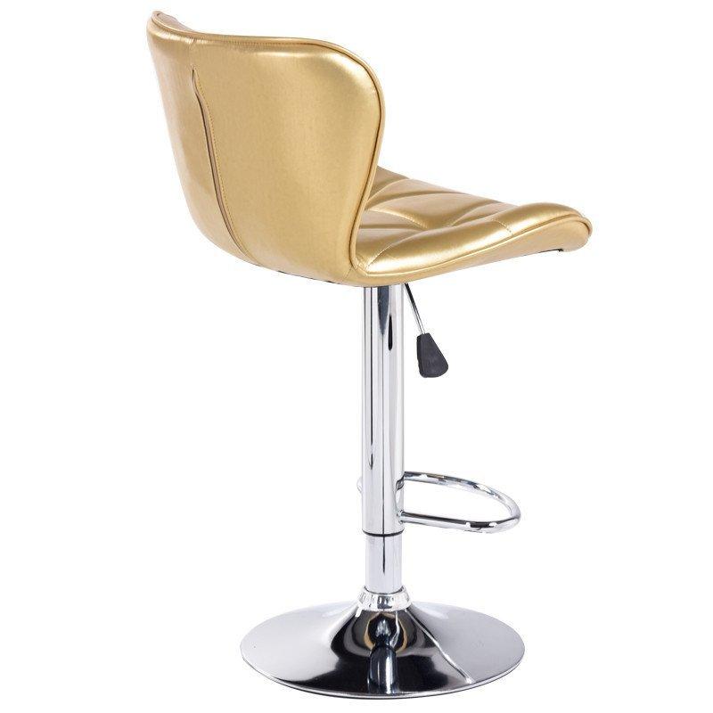 欧式家用高脚升降吧台收银吧凳升降旋转前台靠背椅子