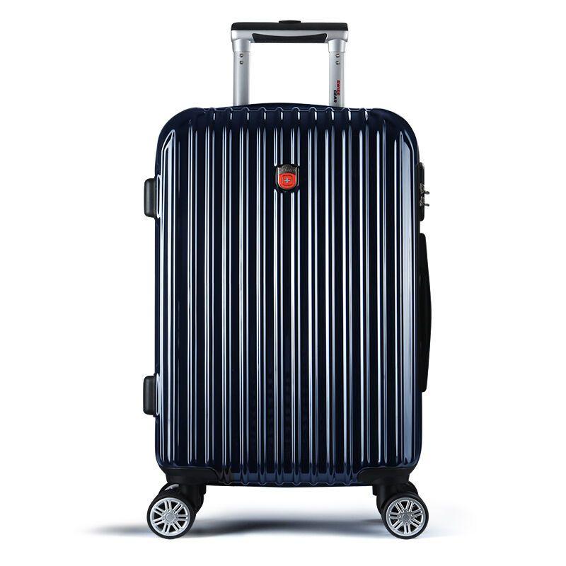 拉杆箱飞机轮旅行箱pc行李箱登机万向轮光面男女商务