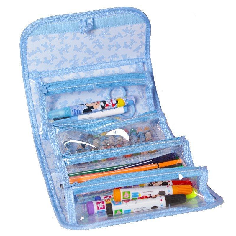 迪士尼(disney)画画袋儿童创意绘画套装小学生水彩笔工具包绘画袋 z60