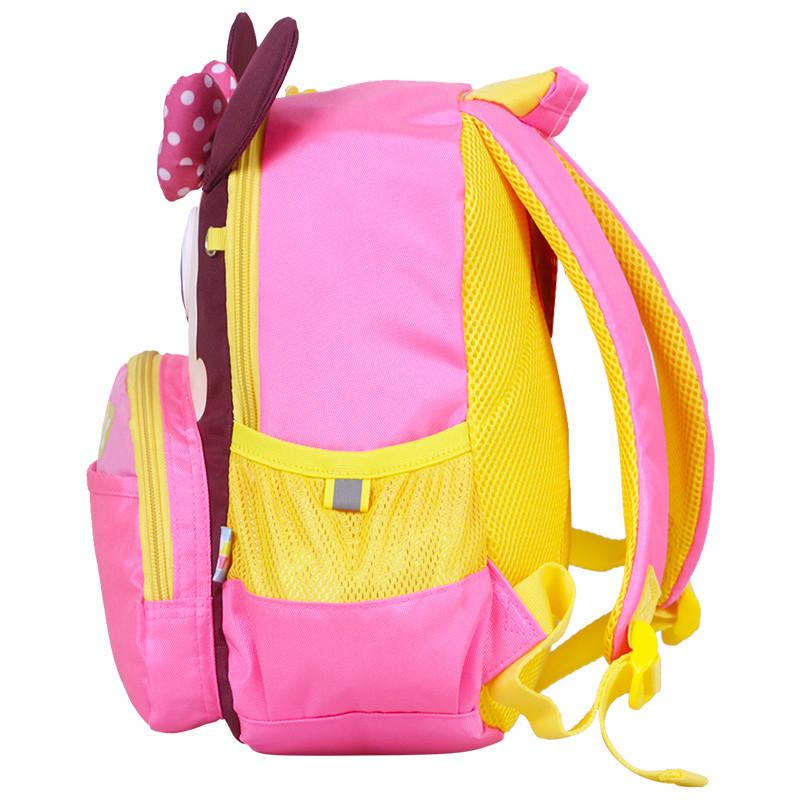 迪士尼(disney)幼儿园小书包米奇儿童1-4岁卡通双肩背包 mb0521b粉色