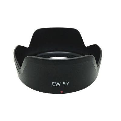 遮光罩EW-53适用佳能EF-M 15-45mm镜头 EOS M5 M3 M10 M6 M100 M50微单相机 遮光镜