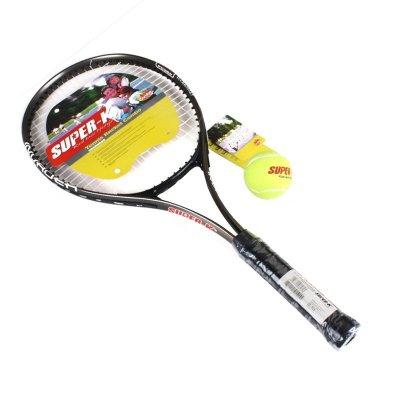 SUPER-K/狮普高SK197铝合金网球拍套装赠1个训练网球拍套已穿线