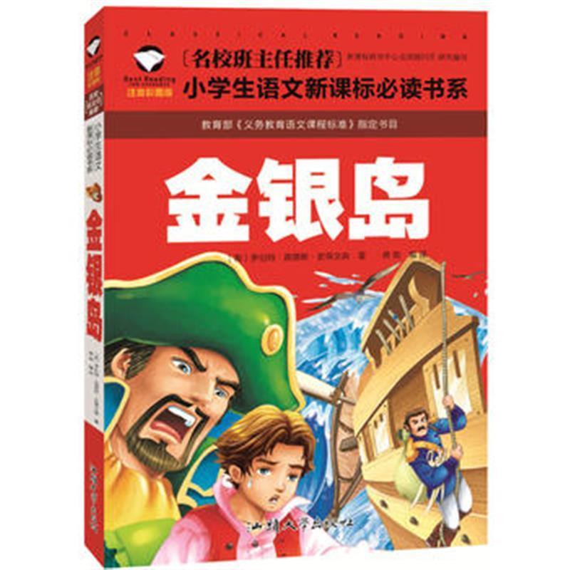 《正版书籍 名校班主任推荐 金银岛 彩图注音版 一二.