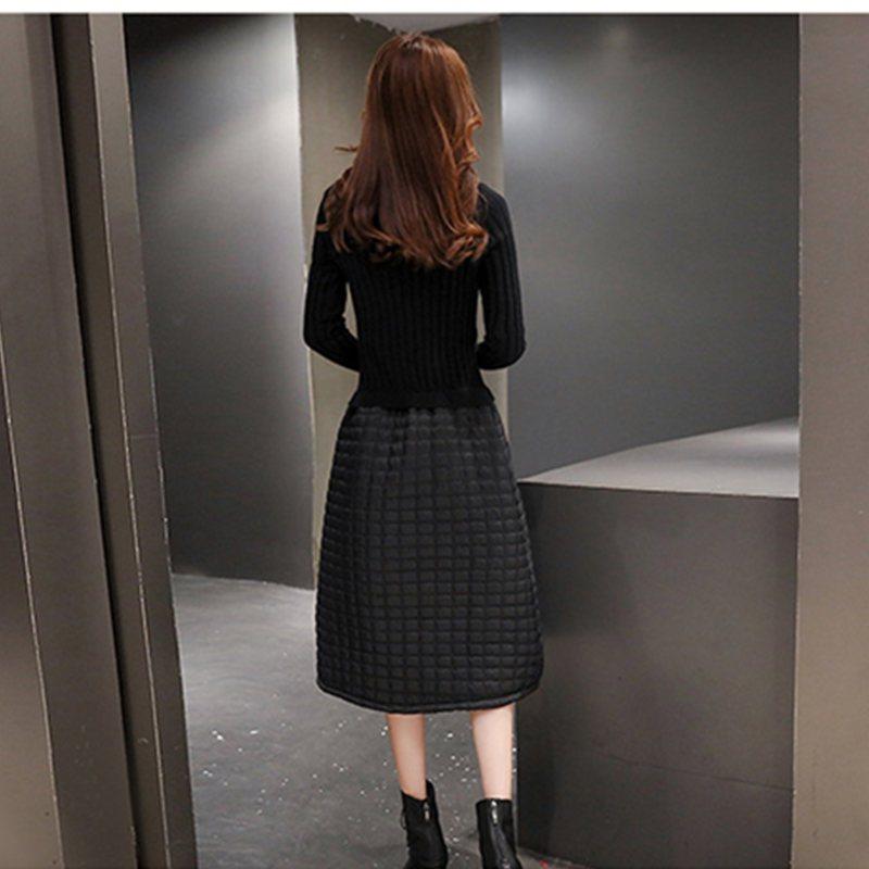 两件套连衣裙长袖春