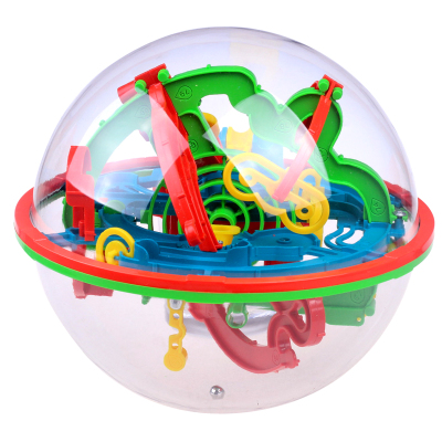 儿童早教益智立体魔幻智力球迷宫球益智游戏亲子大号100关互动走珠3-6-12岁玩具