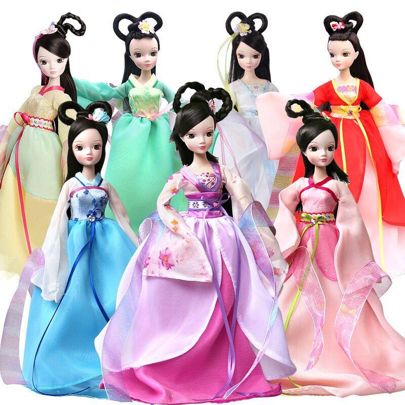 娃娃衣服娃娃可儿七仙女关节古装娃娃玩具体洋娃娃可儿儿童女孩礼物id图片