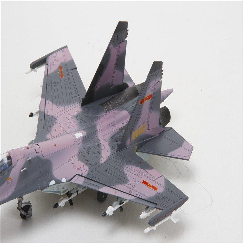 特尔博 1:72中国梦歼11模型合金仿真军事飞机模型实战涂装航模军事