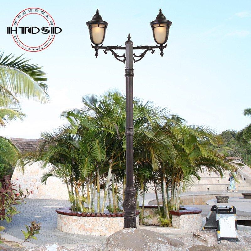 欧式led路灯庭院灯小区园林景观灯草坪灯户外防水灯具