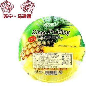 馬來西亞館 可康/Cocon 大杯果凍 (果味型) 菠蘿味 420g*1杯