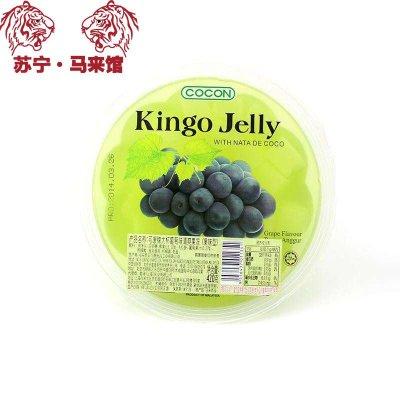 馬來西亞館 可康/Cocon 大杯清爽果凍(果味型) 葡萄味 420g*1杯
