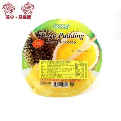 馬來西亞館 可康/Cocon 大杯果凍 (果味型) 榴蓮味 420g*1杯