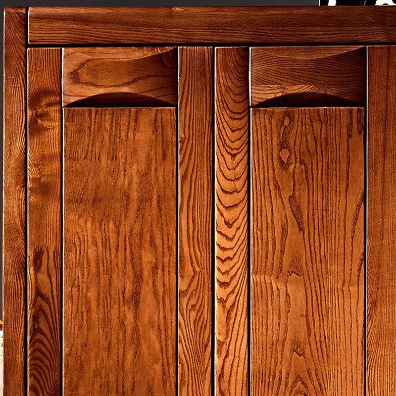 和谐佳缘 水曲柳衣柜实木衣柜卧室家具现代中式组合装