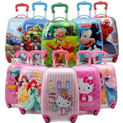 卡通儿童旅行箱儿童拉杆箱男女学生书包拉杆h086 双背 小公主苏菲亚