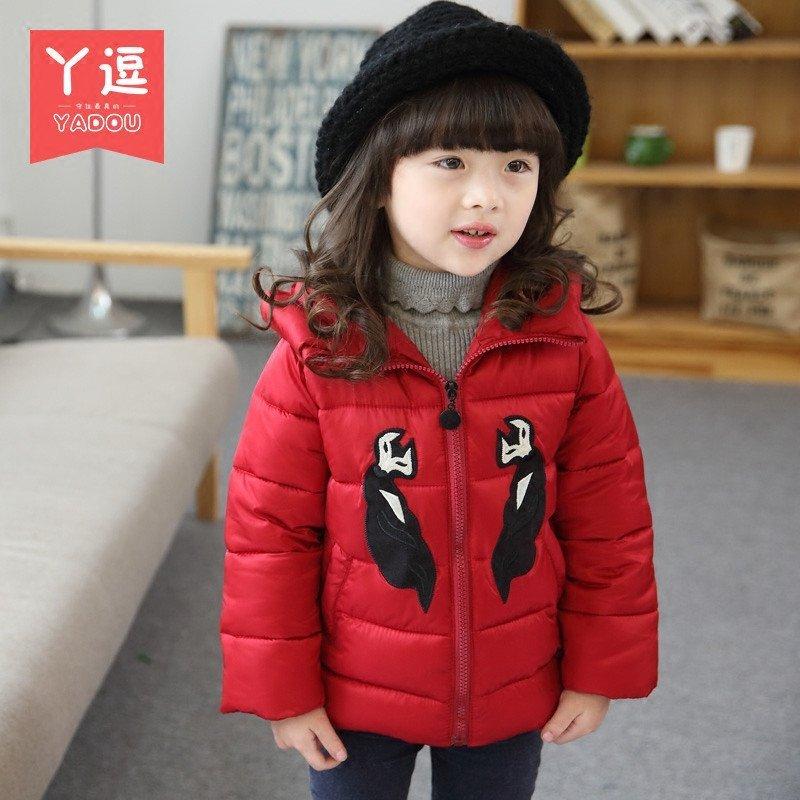 童装女童棉衣外套2015新款韩国女宝宝冬季加厚棉袄小童冬装上衣
