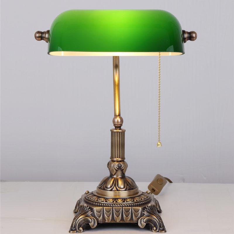 复古全铜台灯卧室床头灯欧式老上海创意温馨纯铜民国古典美式仿古台灯