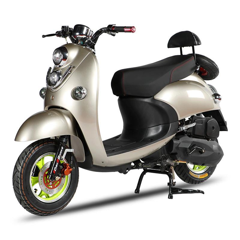 双灯小龟王摩托车女生小巧时尚踏板车助力车125cc动力