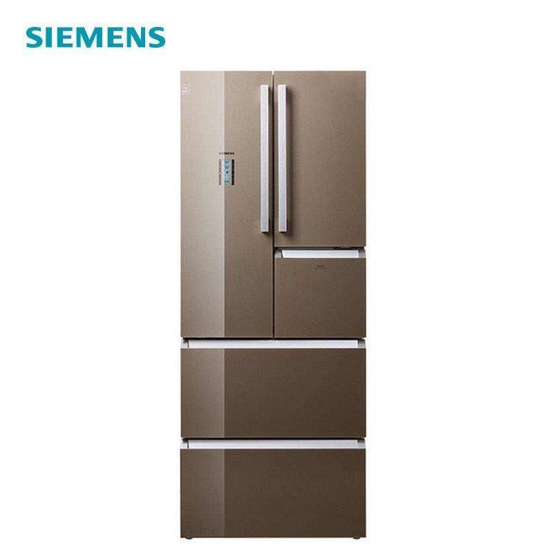 西门子单门电冰箱_西门子冰箱KM40FSG0TI 396L五门冰箱多门高端品质风冷无霜电冰箱 ...