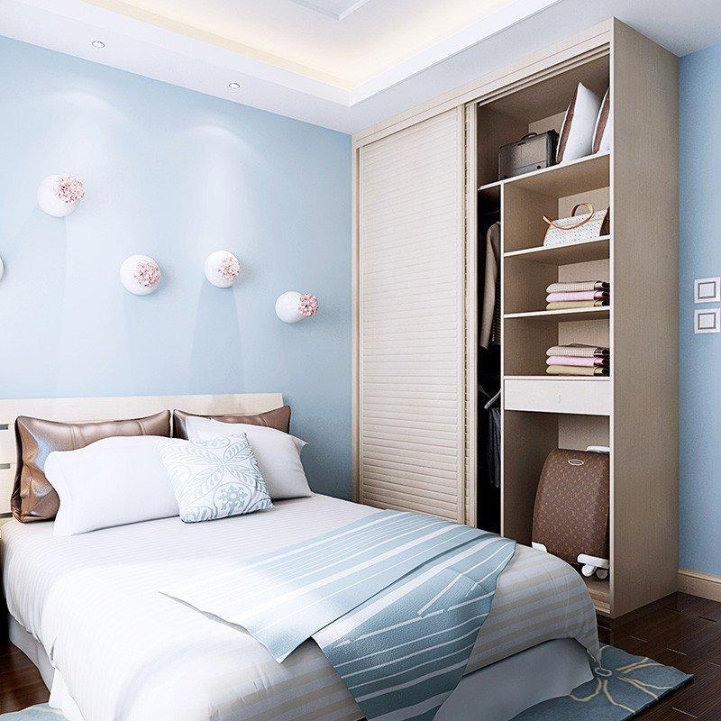 sogal索菲亚卧室家具 定制衣柜 现代简约风格 整体衣柜床床垫床头柜图片