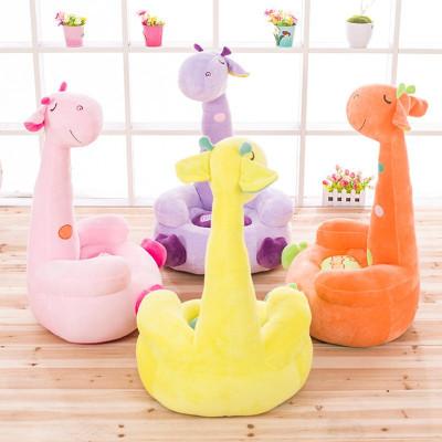 朵啦啦 新款 长颈鹿沙发 毛绒玩具大号布娃娃玩偶 生日礼物 女生 代写