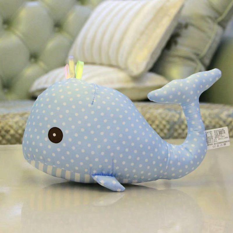 朵啦啦 可爱布艺小海豚 毛绒玩具大号布娃娃玩偶公仔