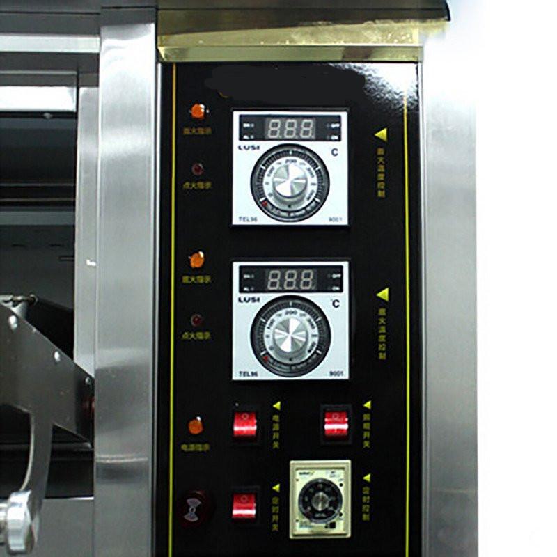 gedun/格盾电器旗舰店yxq-9 大型面包烤炉 三层九盘商用烤箱 燃气烤箱图片