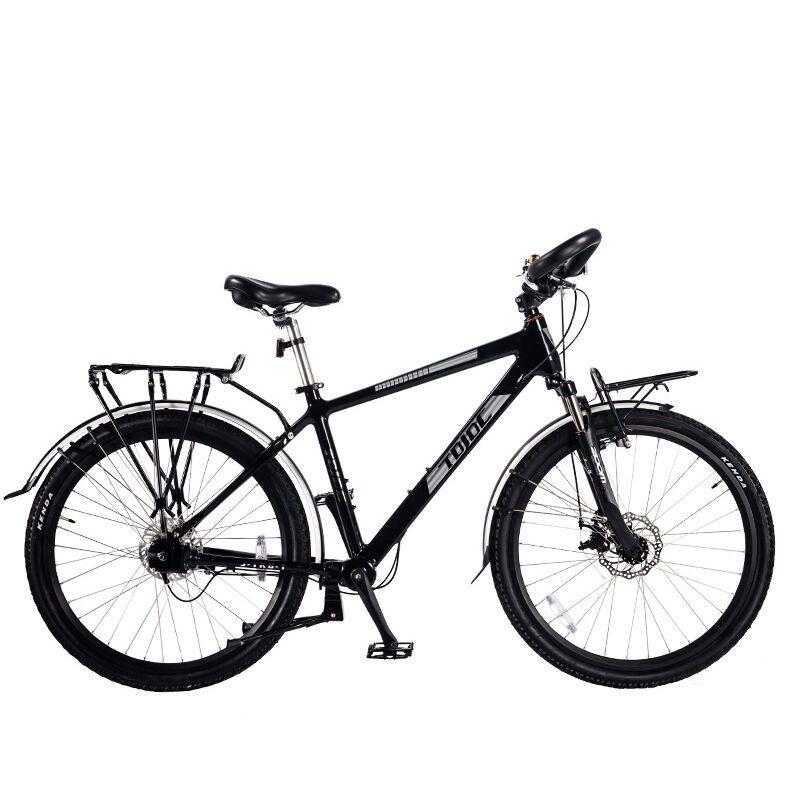 户外骑行v标志无标志内7速链条把自行车铝蝴蝶品牌设计图图片