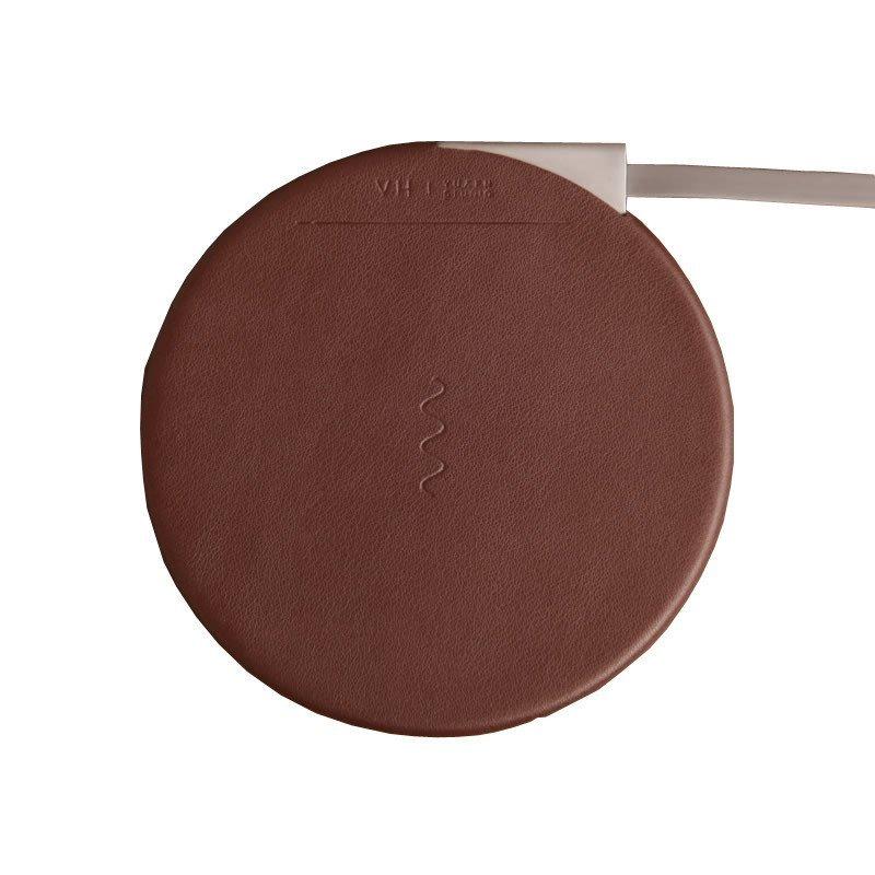 猪娃礼物 vh及创意设计超薄皮革智能无线充电器苹果安卓充电贴片苹果
