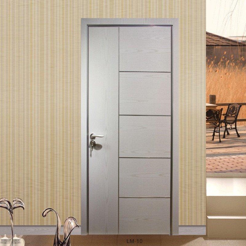 禧赢门生态木门室内门白色实木复合门套装门免漆卧室门喜庆10