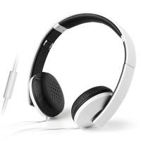 漫步者H750P(白色) 重低音头戴式音乐游戏耳麦 单插头带麦克风可接打电话手机耳机