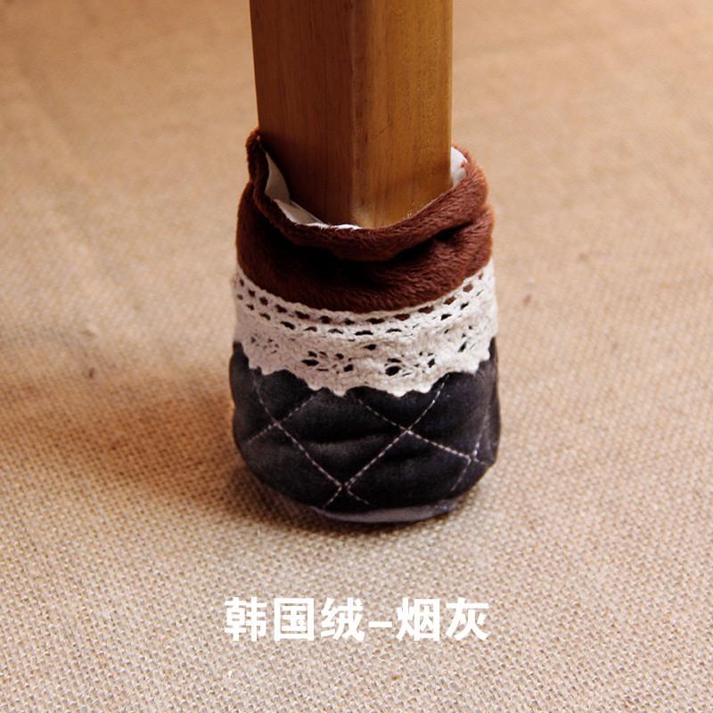 加厚耐磨防噪桌椅脚套8个装 防滑凳子保护套脚垫图片