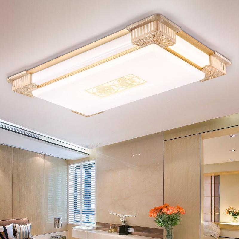 韩球简约现代中式吸顶灯 led客厅新中式顶灯超亮超大简欧式大号大厅灯