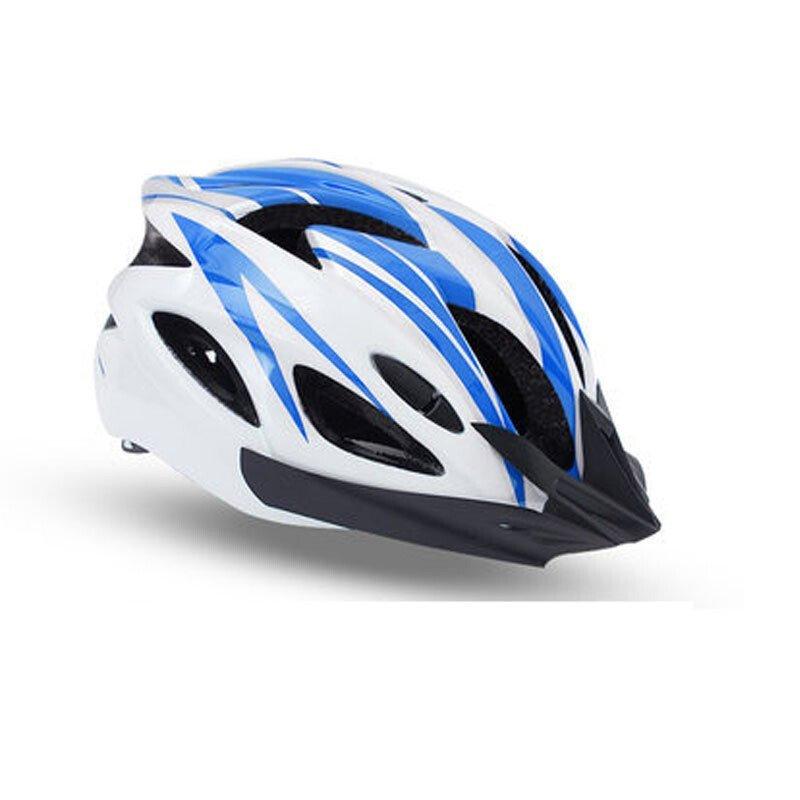 户外运动自行车头盔骑行头盔一体成型头盔骑行头盔 自行车头盔山地车