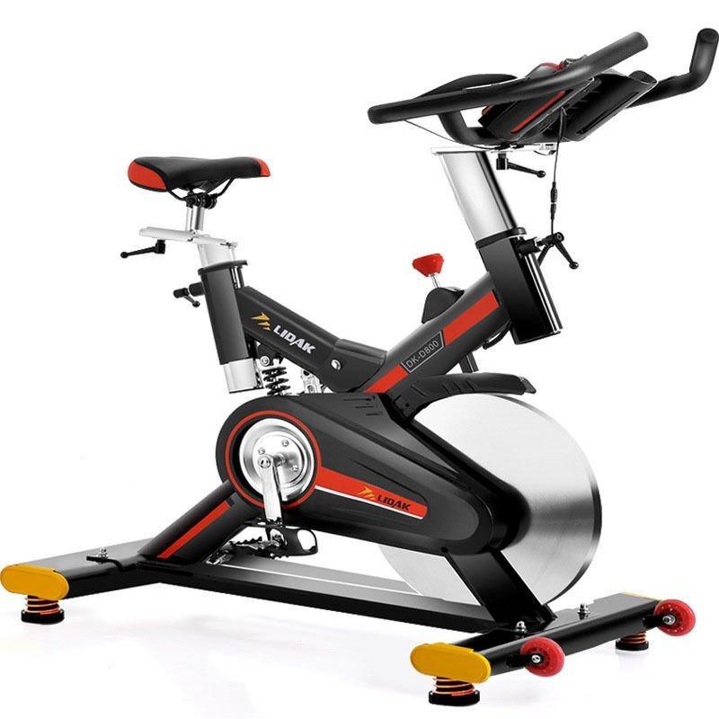 家用小型健身器材大全_户外健身车锻炼家庭用器械时尚潮流减震款家用动感单车健身健身器材