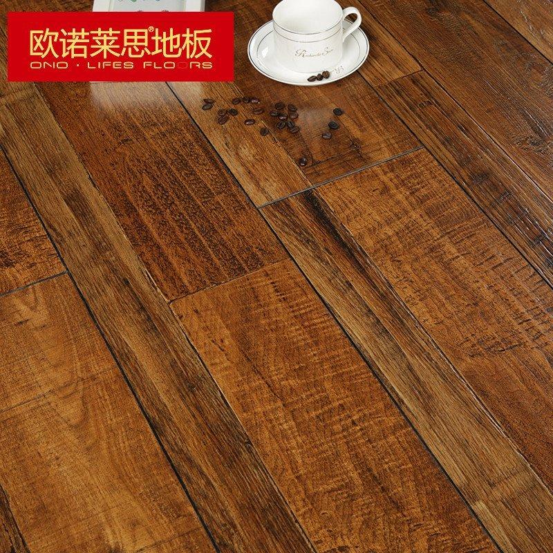 欧诺莱思地板 12mm强化复合地板 家用木地板 环保 耐磨 防水 适合地暖