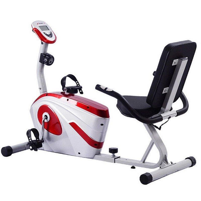 健身车_卧式磁控健身车 中老年人健身车 运动减肥室内康复