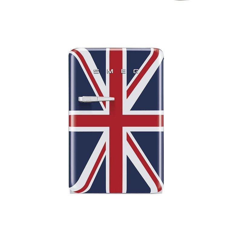 smeg斯麦格英国国旗 立式组合式单门电冰箱 fab10ruj