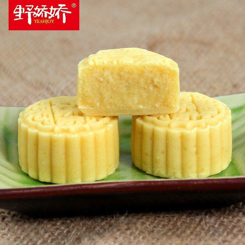 野娇娇纯绿豆糕300g冰糕馅饼传统纯手工点心糕点零食休闲特产